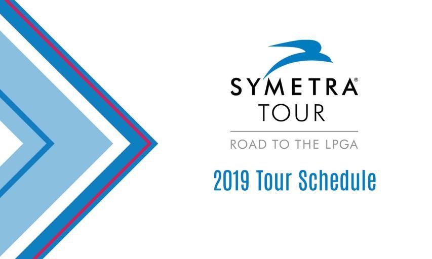 Symetra Tour 2019 Schedule