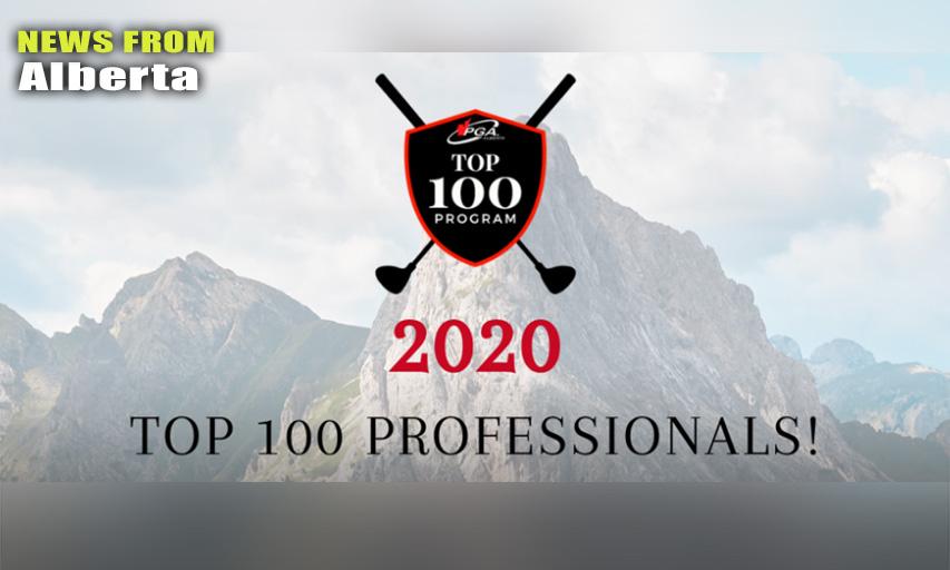 PGA of Alberta Top 100 Professionals for 2020