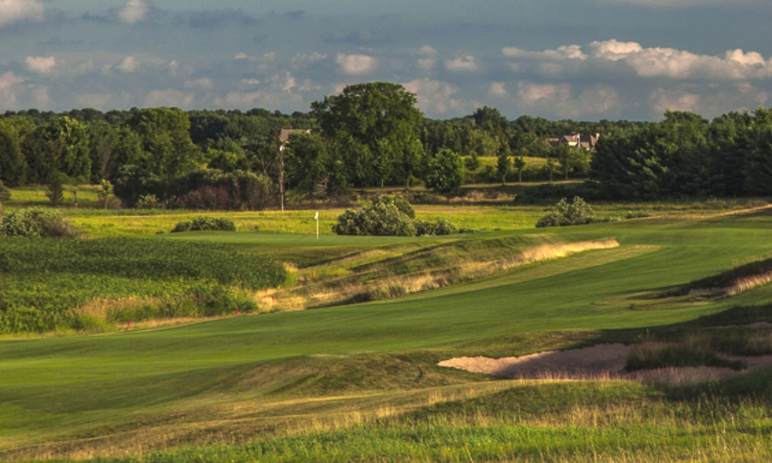 Erin Hills Golf Club Hole No. 1