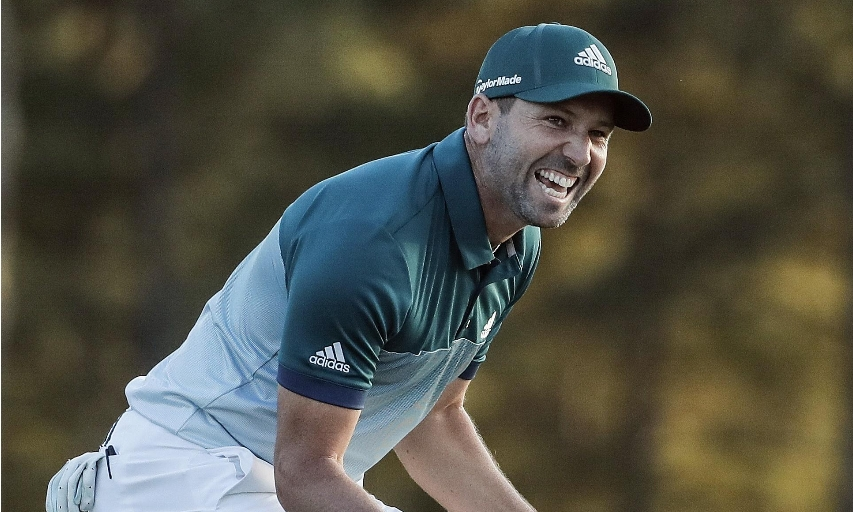 Sergio Garcia at the 2017 Masters