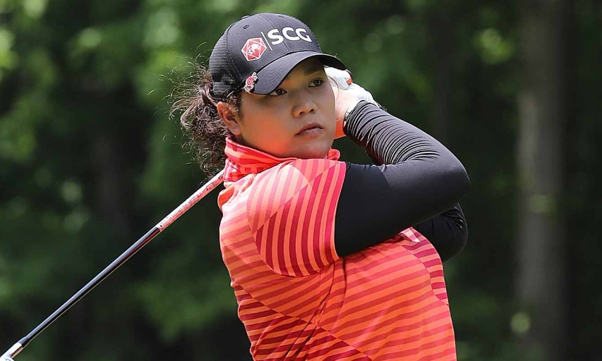 Ariya Jutanugarn at the 2016 LPGA Volvik Championship