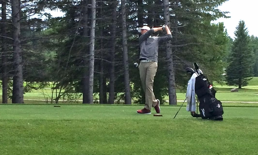 Jordan Irwin at Glencoe Invitational Practice Round