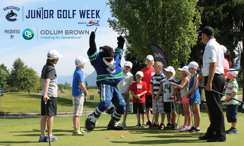 Canucks Junior Golf Week