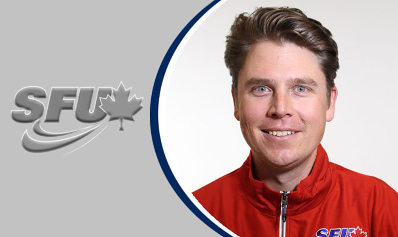 SFU Golf Coach Matthew Steinbach