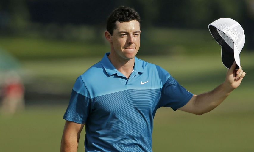 Rory McIlroy at the 2015 Wells Fargo Championship