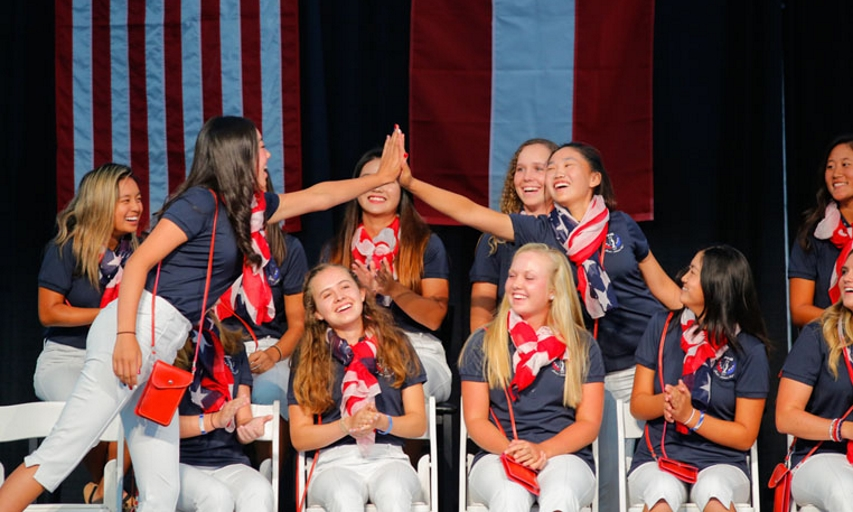 Team USA Wins PING Junior Solheim Cup