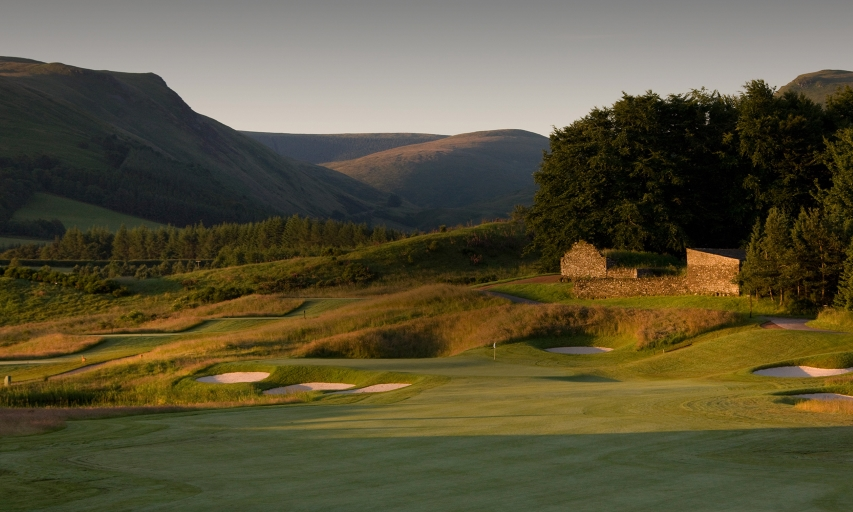 PGA Centenary Course at Gleneagles in Scotland