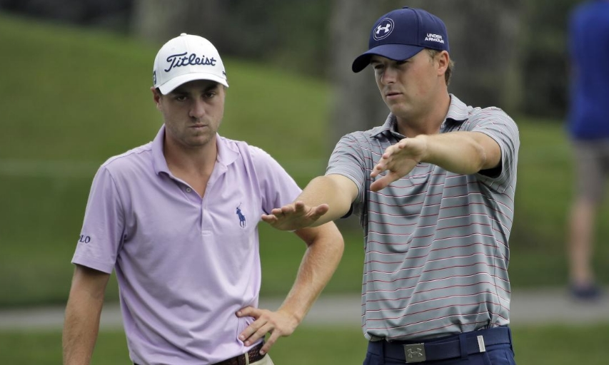 Justin Thomas and Jordan Spieth