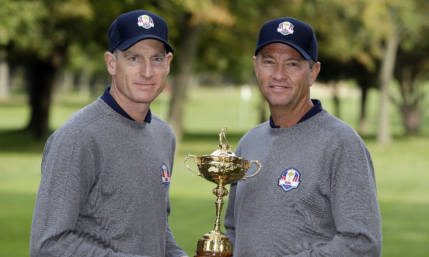 Davis Love III and Jim Furyk