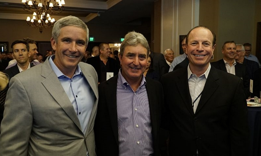 Jay Monahan, Gene Sauers, and Greg McLaughlin