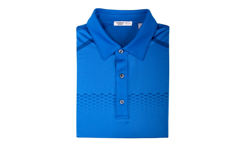 Bermuda Sands Arch Short Sleeve Men's Polo