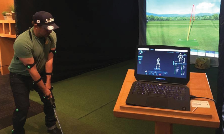Nicklaus North Golf Course Indoor Teaching Space