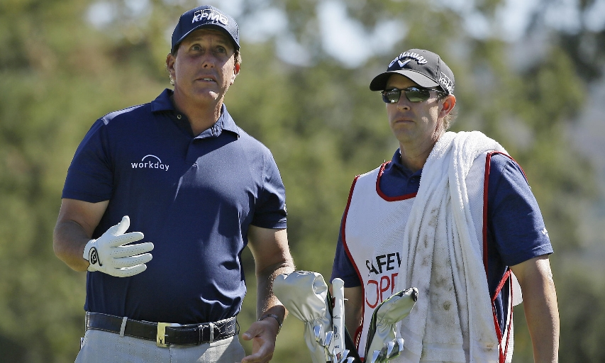 Phil Mickelson and Tim Mickelson