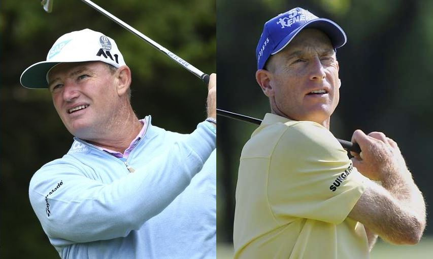 Ernie Els and Jim Furyk