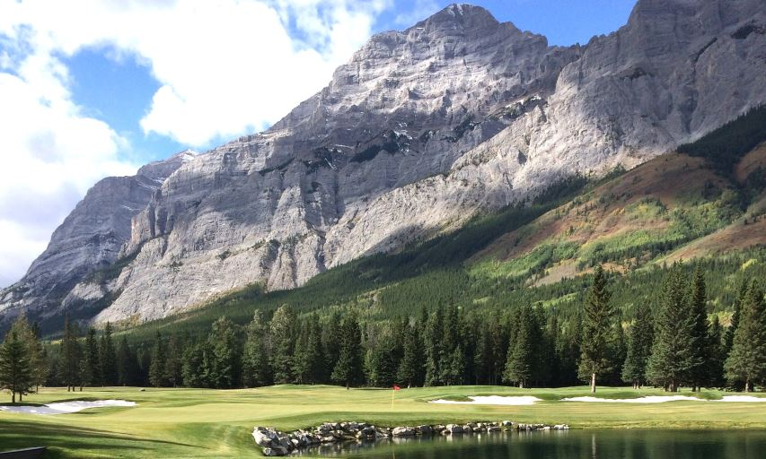 Kananaskis Country Golf Course Mt. Lorette