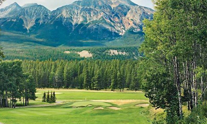Great early season deals on golf at one of worlds best courses the beautiful surroundings including wildlife sightings are a constant at the world famous fairmont jasper park lodge golf course malvernweather Gallery