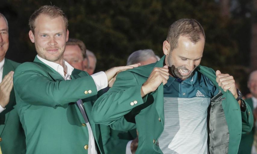 Danny Willett and Sergio Garcia