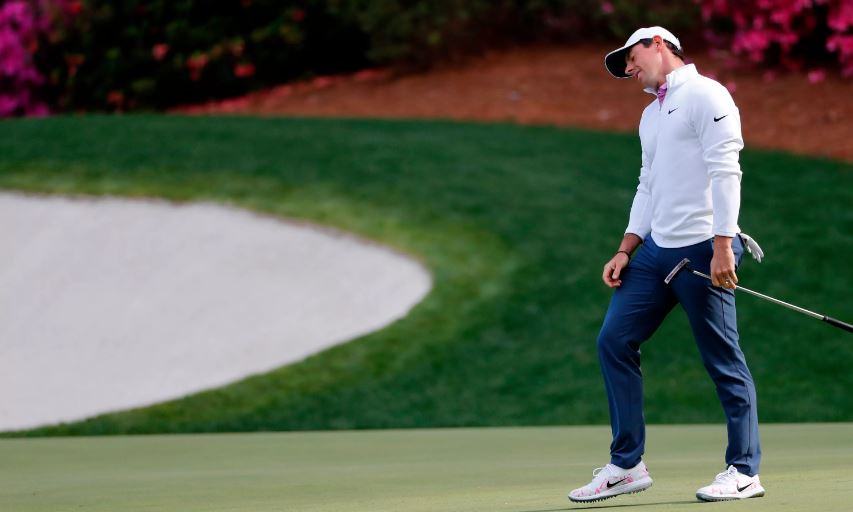 Rory McIlroy at the 2018 Masters