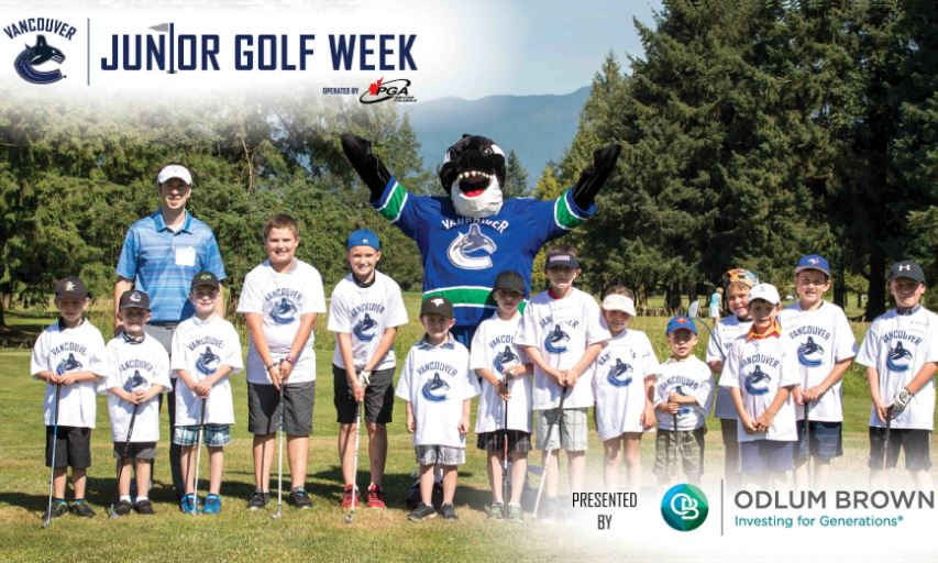 Canucks Junior Golf Week presented by Odlum Brown Limited