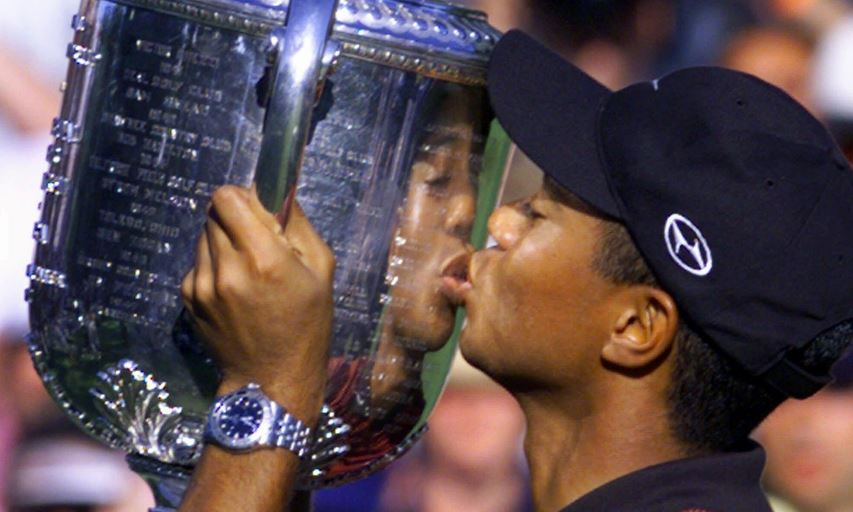 Tiger Woods wins 1999 PGA Championship