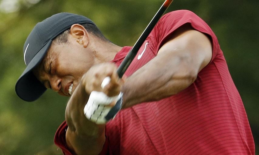 Tiger Woods at the 2018 PGA Championship