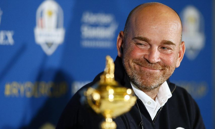 Thomas Bjorn 2018 Ryder Cup European Team Captain
