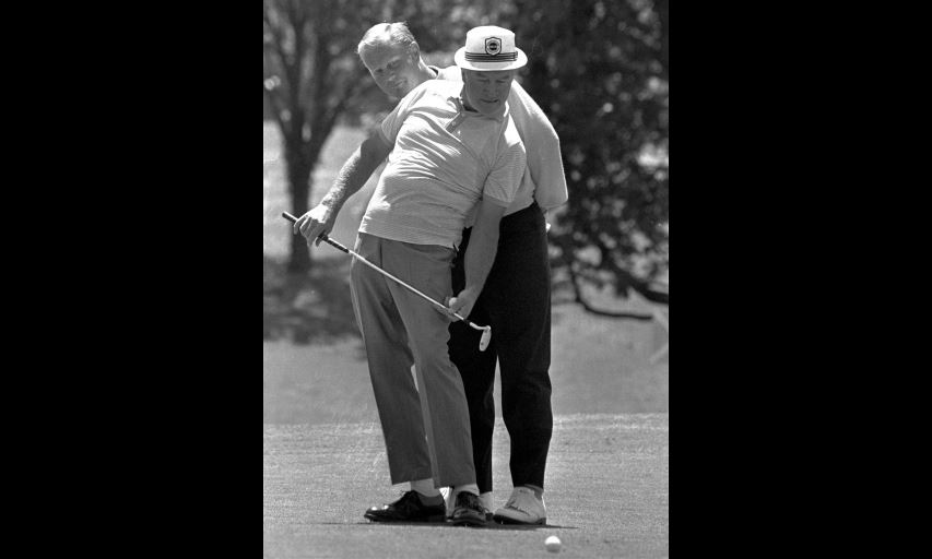 Bob Hope and Jack Nicklaus