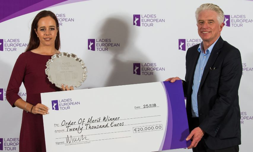 Georgia Hall Ladies European Tour Order of Merit Winner