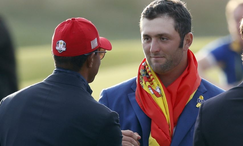 Jon Rahm at the 2018 Ryder Cup