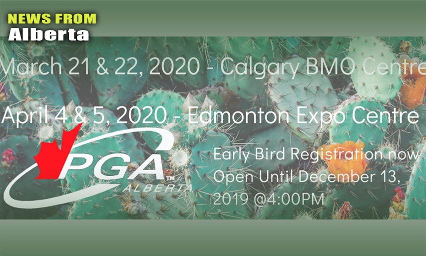2020 PGA of Alberta Golf Shows
