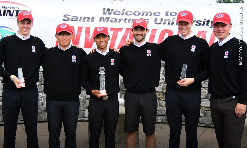 SFU men's golf team