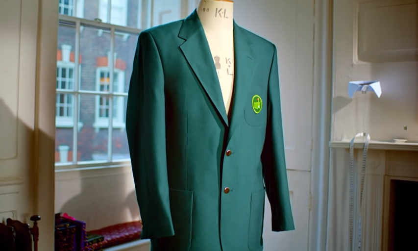 The Masters green jacket