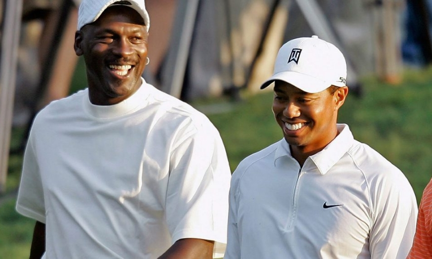e68b5d70 ... 'Greatest Comeback I've Ever Seen'. Michael Jordan and Tiger Woods
