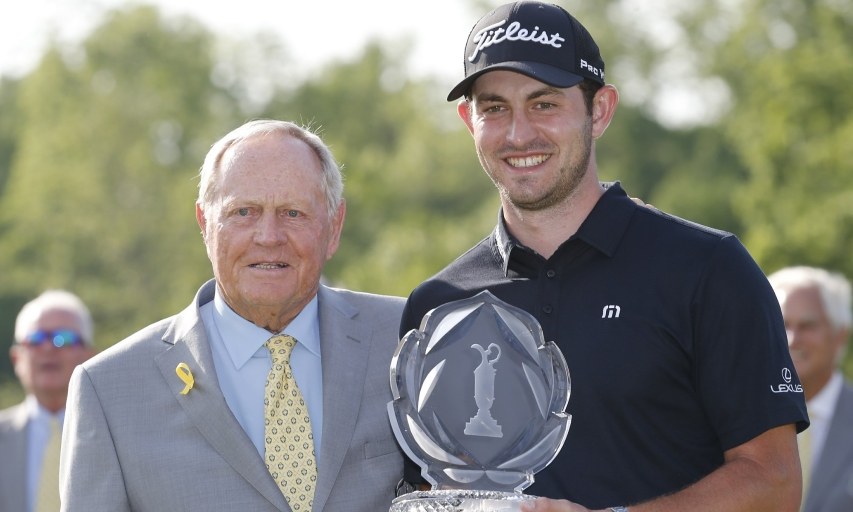 Jack Nicklaus and Patrick Cantlay
