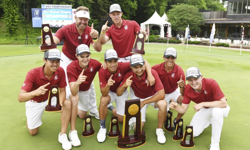 Stanford men's golf team