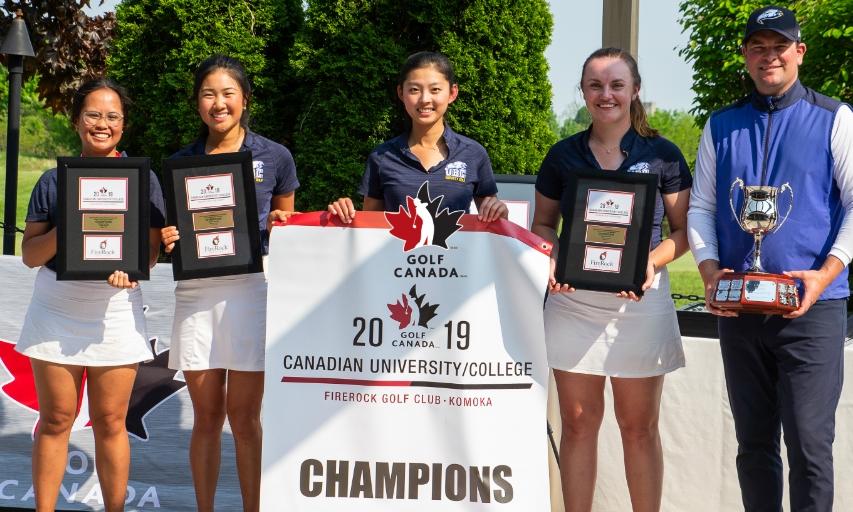 UBC Men, Women Stage Dramatic Comebacks to Win Canadian