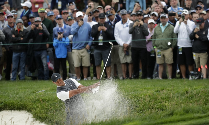 Tiger Woods at the 2019 U.S. Open