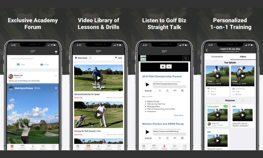 Golf Pro Shawn Cox Launches SwingU Academies App - Inside Golf