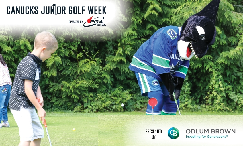 Canucks Junior Golf Week Presented by Odlum Brown