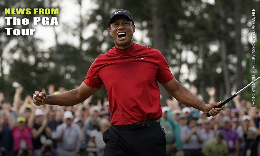 Tiger Woods wins the 2019 Masters