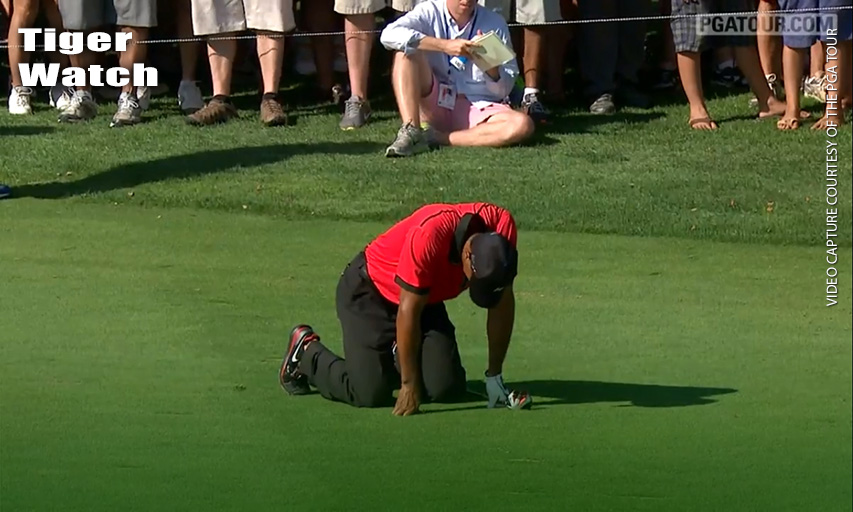 Tiger Woods at The Barclays 2013