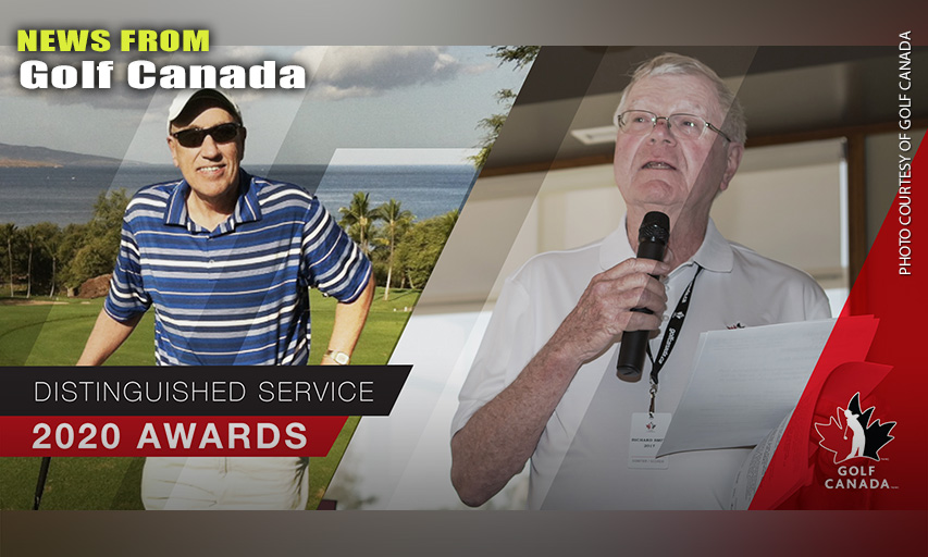 Golf Canada Recognize Two Honourees With Distinguished Service Award