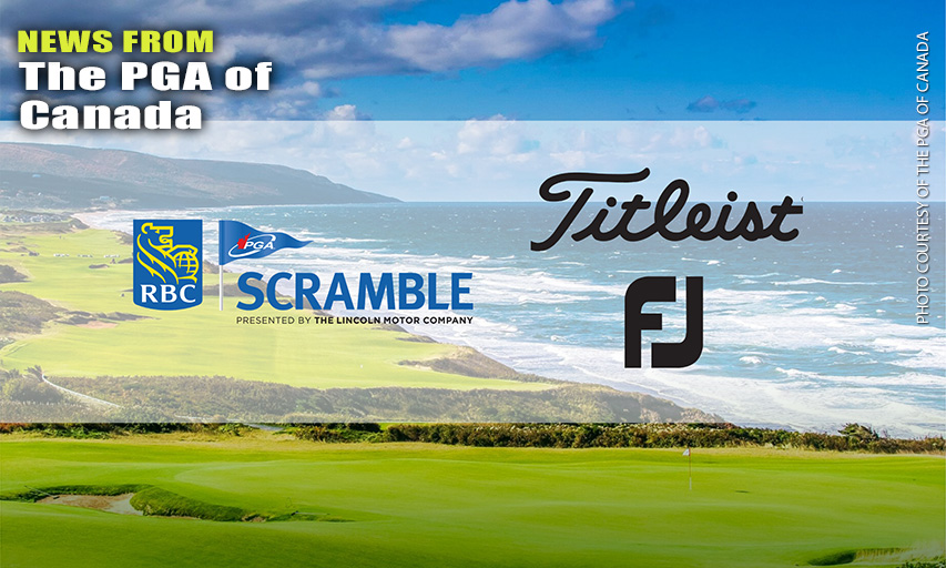 Titleist & FootJoy Newest National Partners Of RBC PGA Scramble