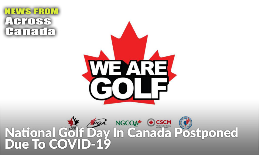 National Golf Day In Canada Postponed