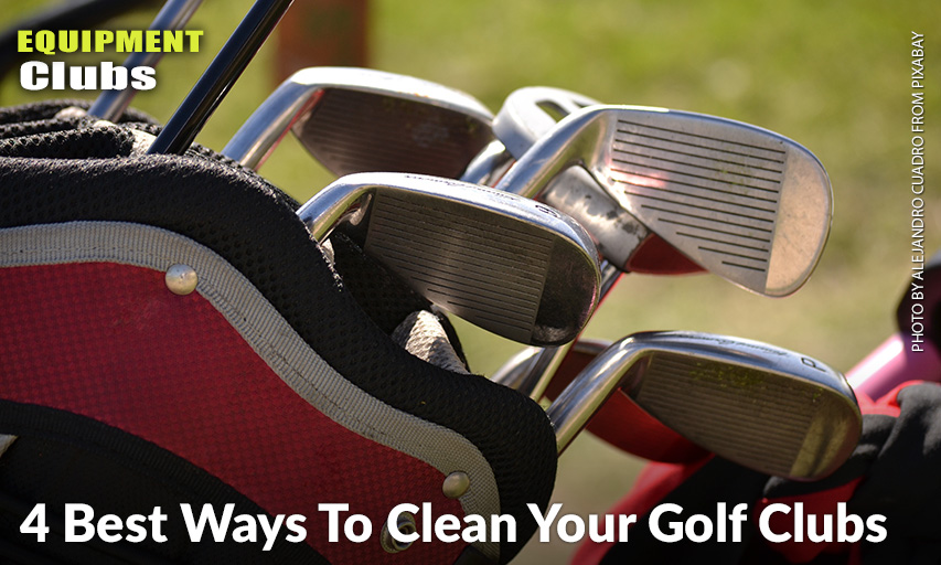 4 Best Ways To Clean Your Golf Clubs - Inside Golf