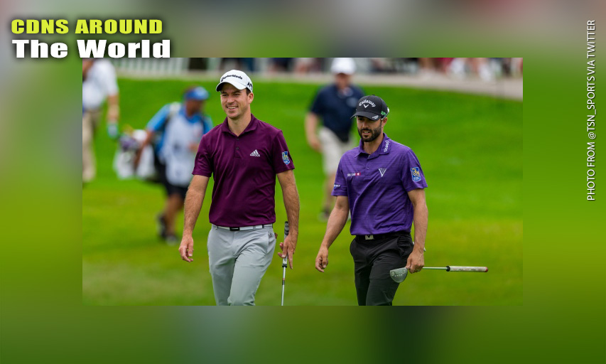 Nick Taylor and Adam Hadwin