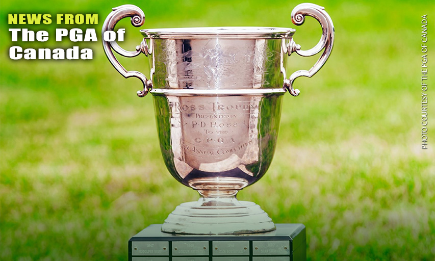 PGA Championship of Canada trophy