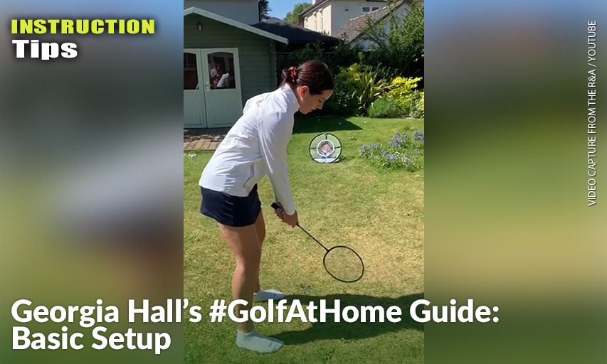 Georgia Hall Golf At Home Guide