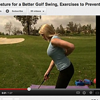 Video Katherine Roberts Better Posture For A Better Golf Swing Inside Golf